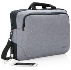 """XD Design Taška na notebook Arata 15"""", šedá/černá P762.182"""