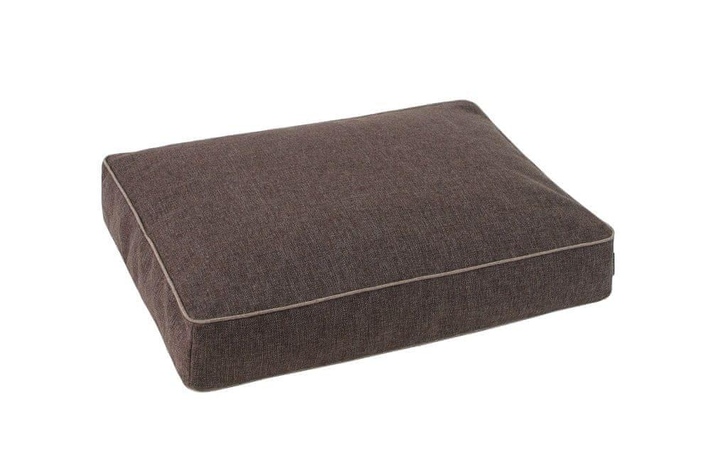O´ lala Pets Ortopedická matrace Luxury 90x60 cm hnědá