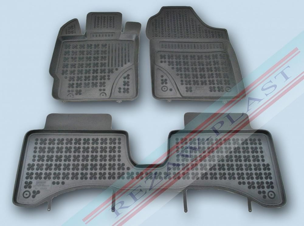 REZAW-PLAST Gumové autokoberce Toyota Yaris 2012-2014 (hybrid)