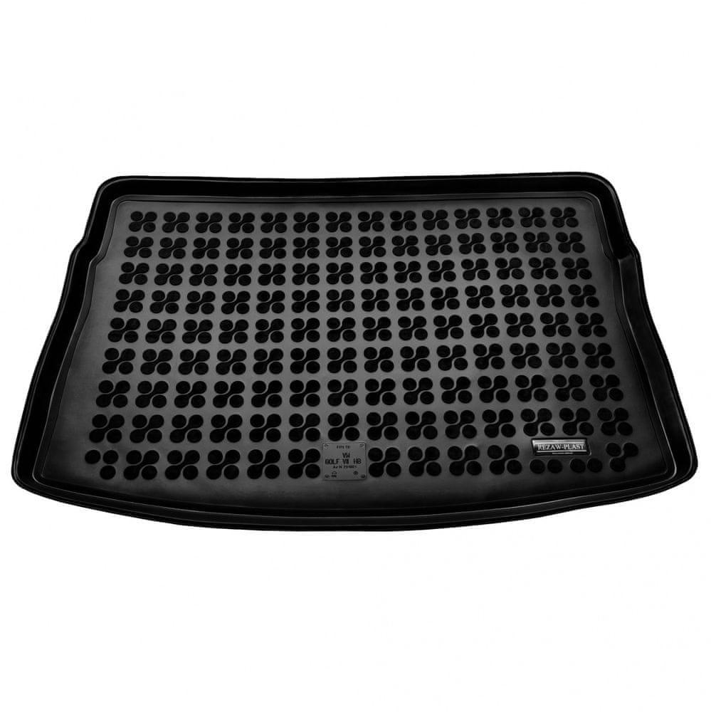 REZAW-PLAST Gumová vana do kufru VW Golf VII. 2012- (hb, horní dno)