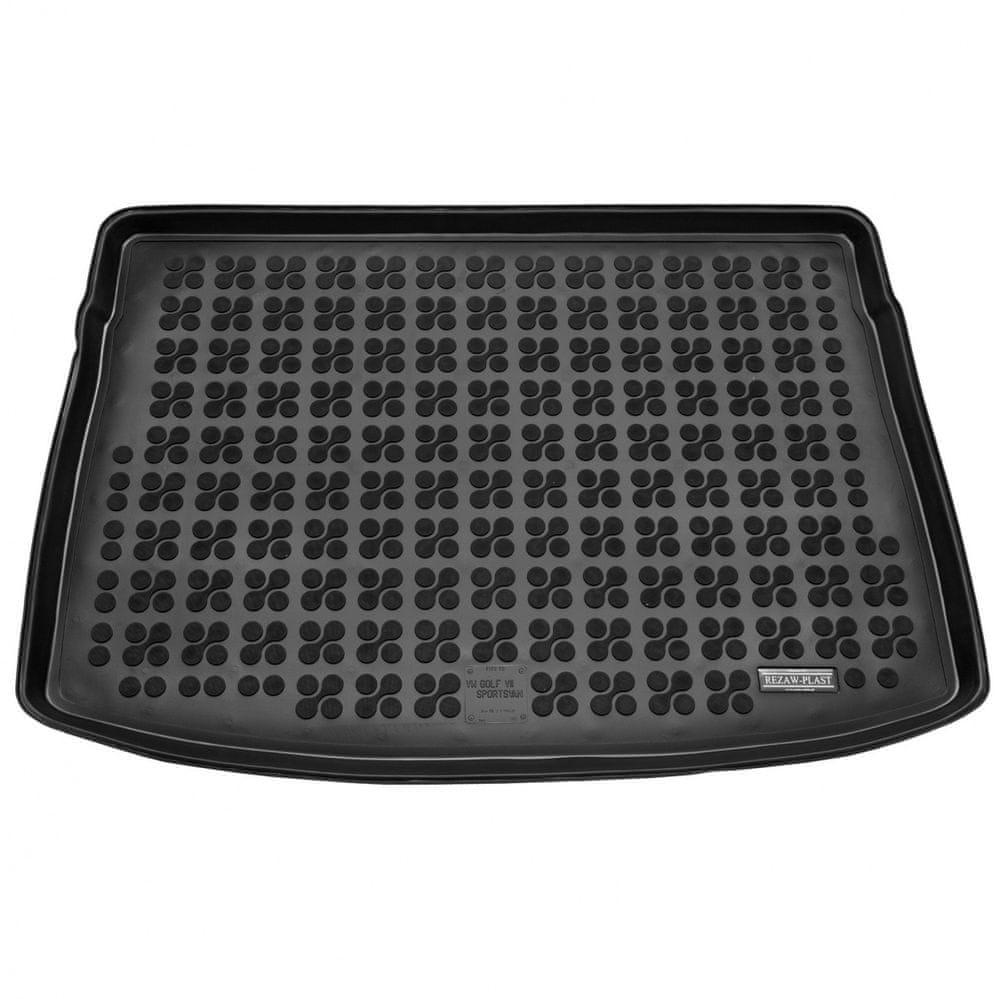 REZAW-PLAST Gumová vana do kufru VW Golf VII. Sportsvan 2014- (horní dno)
