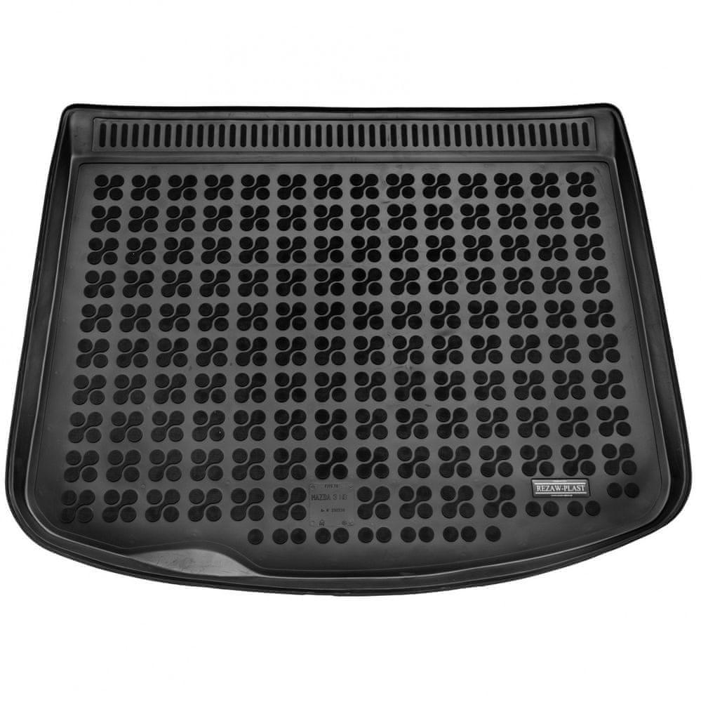 REZAW-PLAST Gumová vana do kufru Mazda 3 2009-2013 (hb, dojezdové kolo)