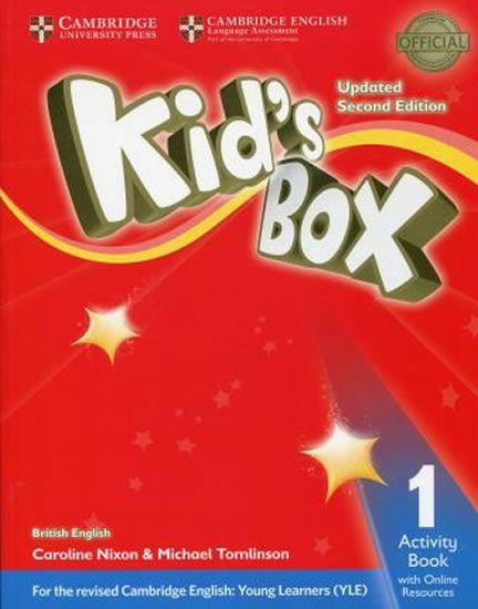 Nixon Caroline: Kid´s Box Level 1 Activity Book with Online Resources British English