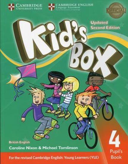 Nixon Caroline: Kid´s Box Level 4 Pupil´s Book British English