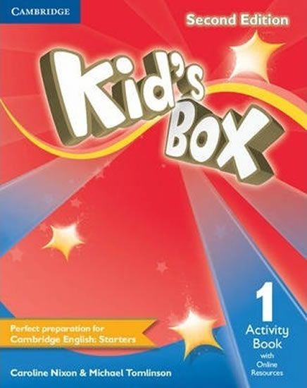 Nixon Caroline: Kid´s Box 1 Second Edition Activity Book + Online Resources