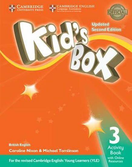 Nixon Caroline: Kid´s Box Level 3 Activity Book with Online Resources British English