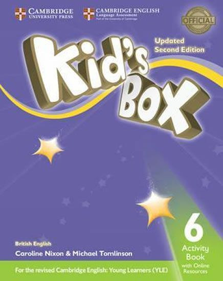 Nixon Caroline: Kid´s Box Level 6 Activity Book with Online Resources British English