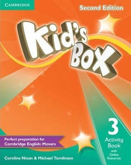 Nixon Caroline: Kid´s Box 3 Second Edition Activity Book + Online Resources