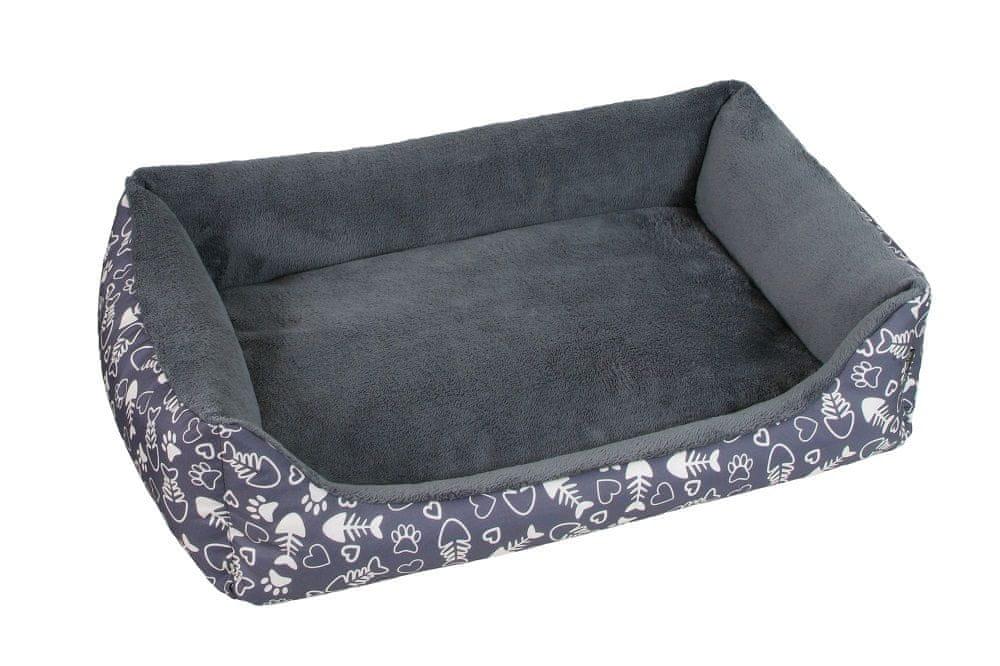 O´ lala Pets Pelech Super de luxe 70x100 cm šedá