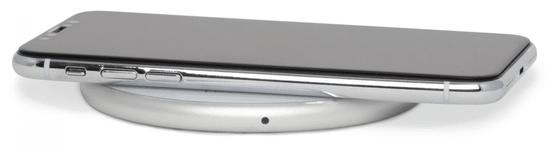 EPICO ładowarka bezprzewodowa WIRELESS CHARGER z adapterem 10W/7.5W/5W - bíała 9915111100002