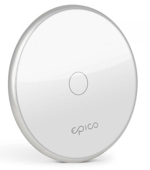 EPICO brezžični polnilnik, 10W/ 7.5W/ 5W, bel/srebrni (9915152100001)