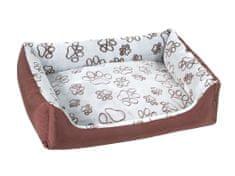 O´ lala Pets ležišče za pse Pelech Super Trendy, 70x100 cm, rjavo