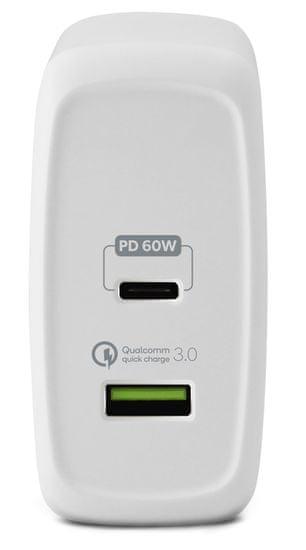 EPICO 60 W PRO CHARGER, biela