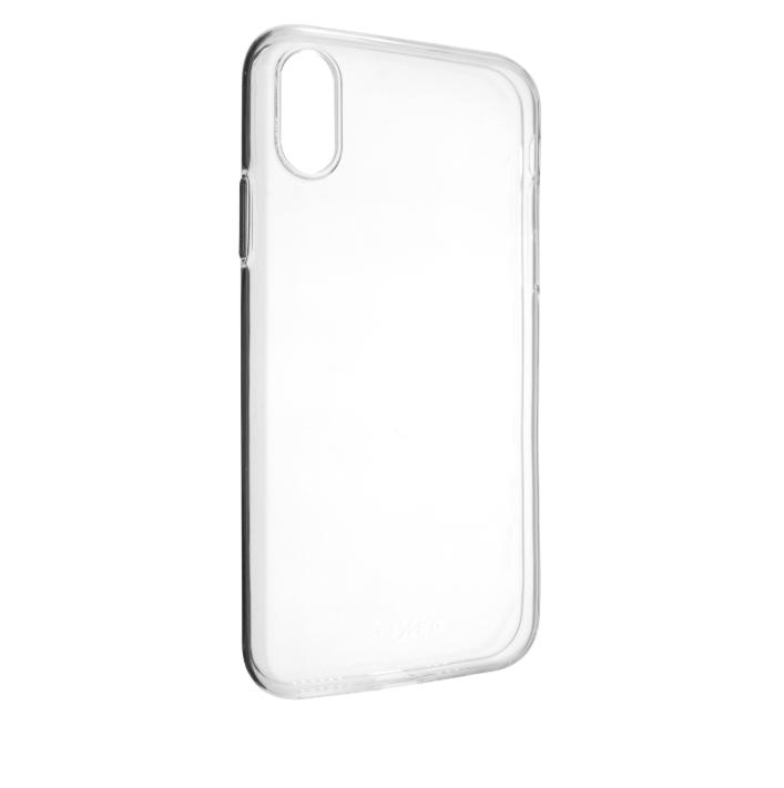 FIXED TPU gelové pouzdro pro Apple iPhone XS, čiré FIXTCC-363