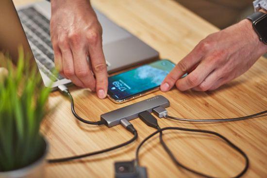 EPICO Koncentrator USB Type-C Hub Multi-Port 4k HDMI - space grey/black 9915111900012