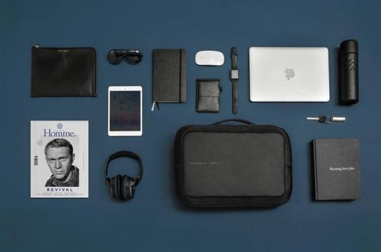 """XD Design Bezpečnostný batoh / aktovka Bobby Bizz 15,6 """", čierny P705.571"""