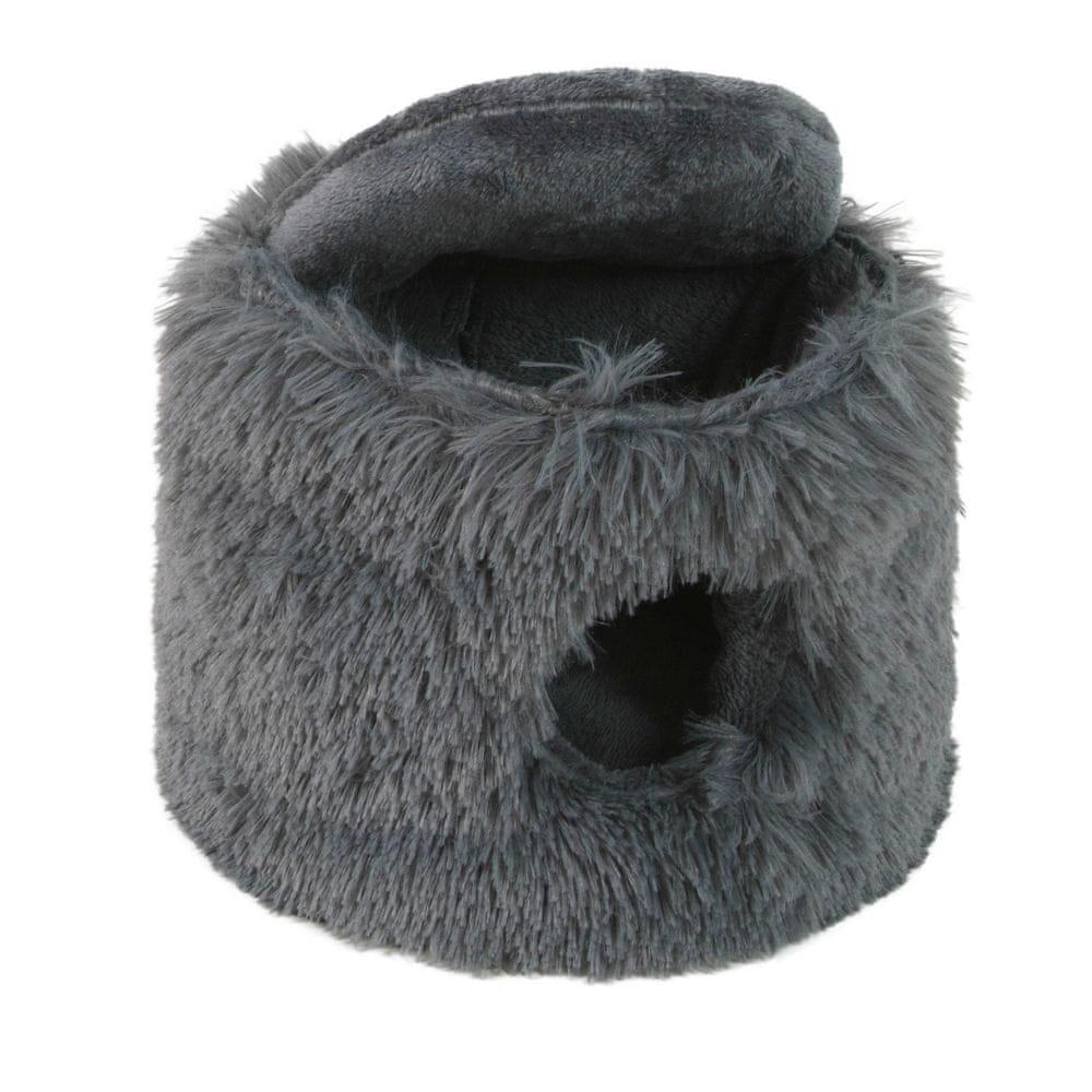 O´ lala Pets Pelíšek pro hlodavce Tin 23x18 cm šedá