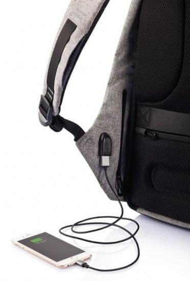 XD Design varnostni nahrbtnik Bobby XL 17, črn P705.561