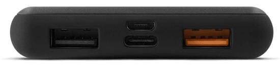 EPICO P10 POWER BANK 10 000 mAh (PD 18 W + gyors töltés), fekete