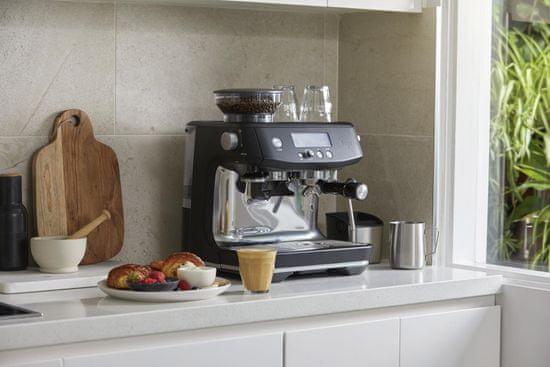 SAGE pákový kávovar SES878BTR - rozbaleno