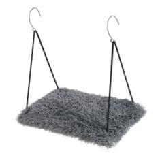 O´ lala Pets Závěsná polička Soft 34x52 cm šedá