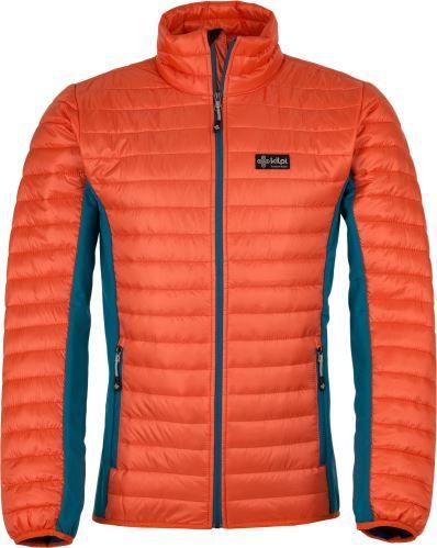 Kilpi Pánská prošívaná bunda KILPI ISAIAH-M oranžová XL
