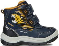 Geox Flanfil fantovski zimski škornji, 22, temno modri