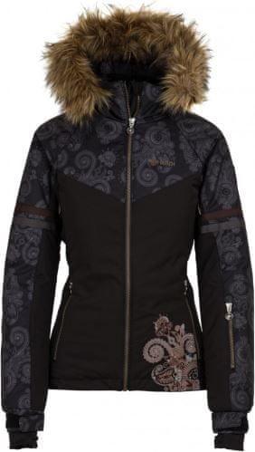 Kilpi Dámská zimní lyžařská bunda KILPI LENA-W černá 36