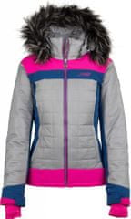 Dámská zimní technická bunda KILPI LEDA-W růžová 38