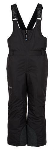 Kilpi Dětské zimní lyžařské kalhoty KILPI DARYL-JB černá 134_140