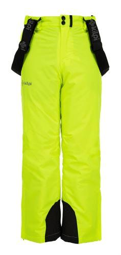 Kilpi Dětské zimní lyžařské kalhoty KILPI METHONE-JB žlutá 134_140