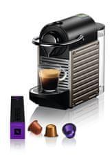 Nespresso kávovar na kapsle Krups Pixie Titanový XN304T10