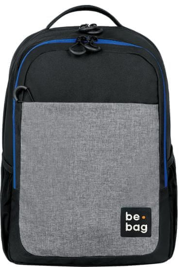 Herlitz šolska torba Be clever Black&Grey Melange