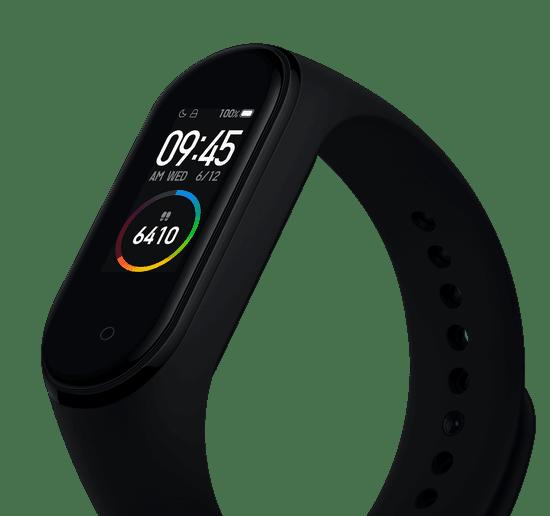 Xiaomi Mi Band 4, čierny
