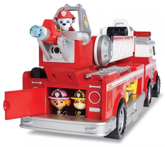 Spin Master Tačke na patrulji - veliko gasilsko vozilo z učinki