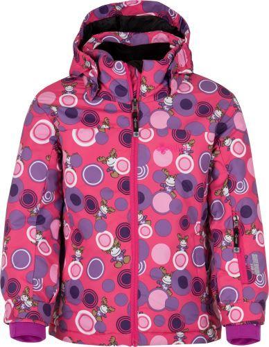 Kilpi Dětská zimní lyžařská bunda KILPI GENOVESA-JG růžová 122_128