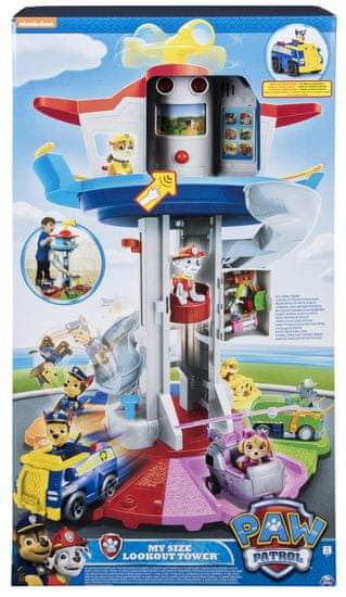 """Spin Master Tlapková patrola Hlídkovací věž v """"životní"""" velikosti"""