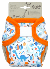 Petit Lulu pieluszka wierzchnia dla noworodków Podróż do prehistorii
