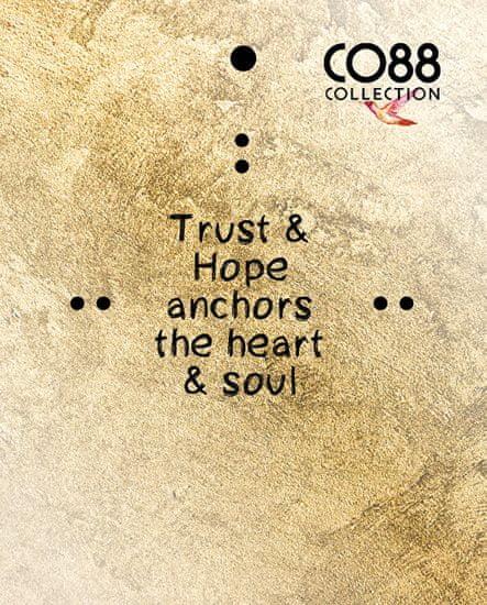 CO88 Acél karkötő horgonnyalFaith, hope, love 860-180-090185-0000