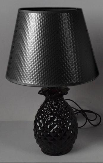 DUE ESSE Stolní lampa ananas 40 cm, černá