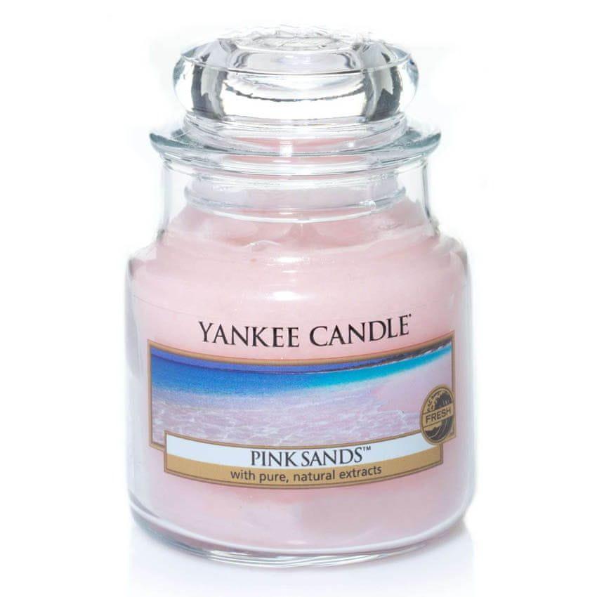 Yankee Candle vonná svíčka Pink Sands 104 g
