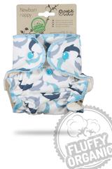 Petit Lulu pieluszka dla noworodków Delfiny