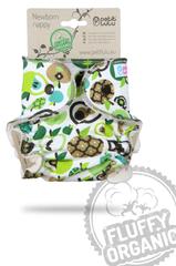 Petit Lulu pieluszka dla noworodków Jabłka