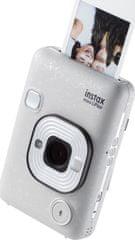 FujiFilm aparat do fotografii natychmiastowej Instax Mini LiPlay EX D White
