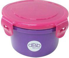 DBB Remond naczynie Baby Lunch 400 ml z wiekiem, fioletowe