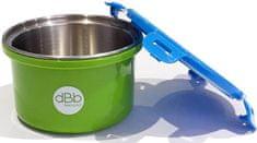 DBB Remond naczynie Baby Lunch 400 ml z wiekiem, zielone