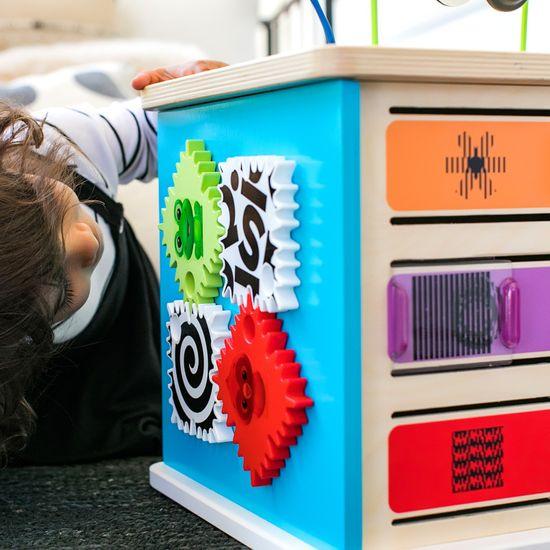 Hape Baby Einstein Aktív fakocka játék Innovation Station