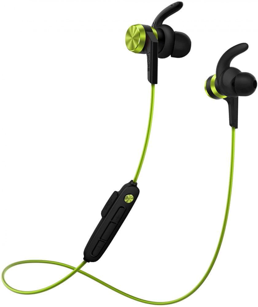 1More iBFree Sport Bluetooth In-Ear E1018 bezdrátová sluchátka, zelená