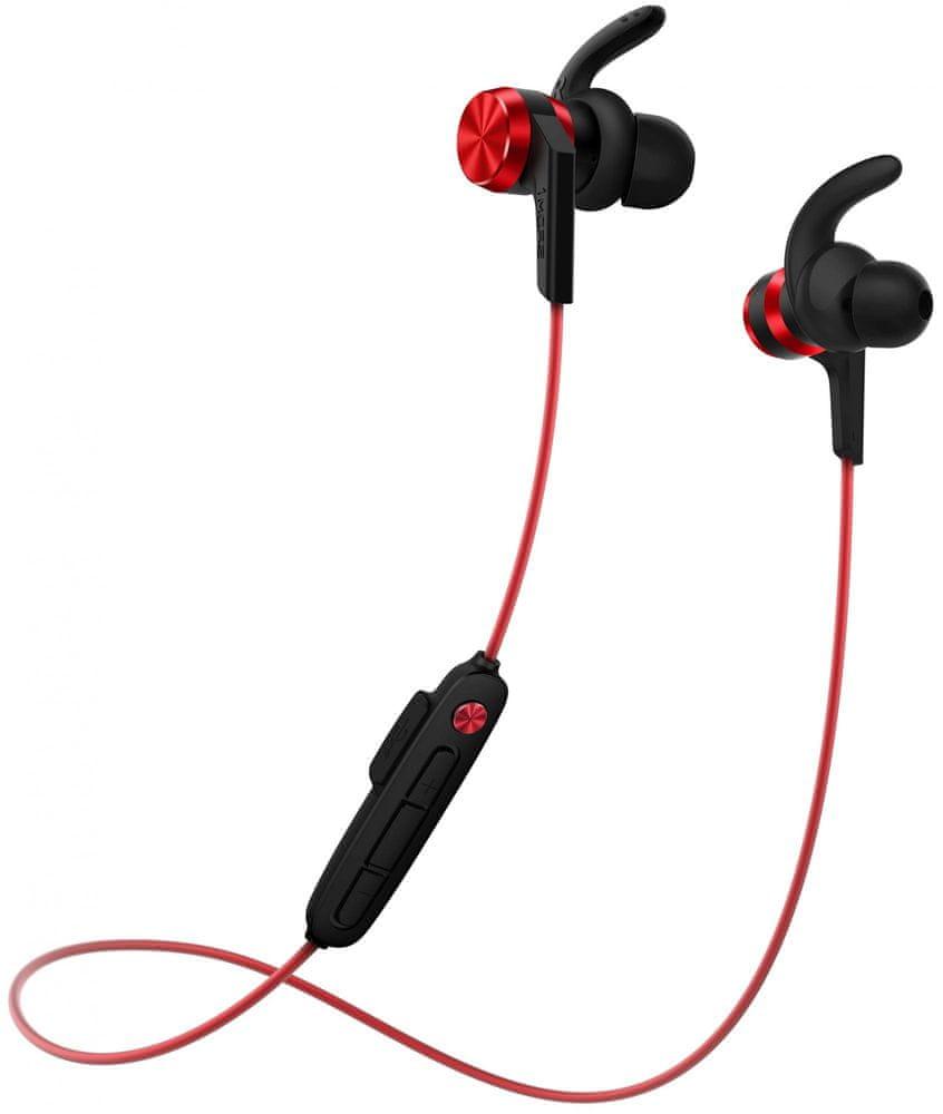 1More iBFree Sport Bluetooth In-Ear E1018 bezdrátová sluchátka, červená
