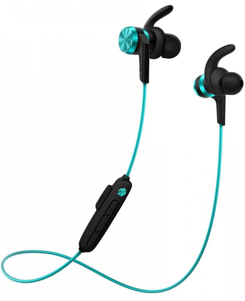 1More iBFree Sport Bluetooth In-Ear E1018 bezdrátová sluchátka, modrá